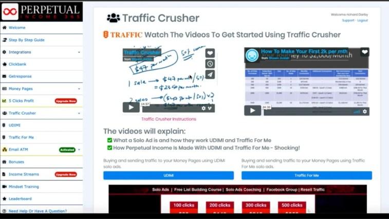 Perpetual Income 365: Traffic Crusher