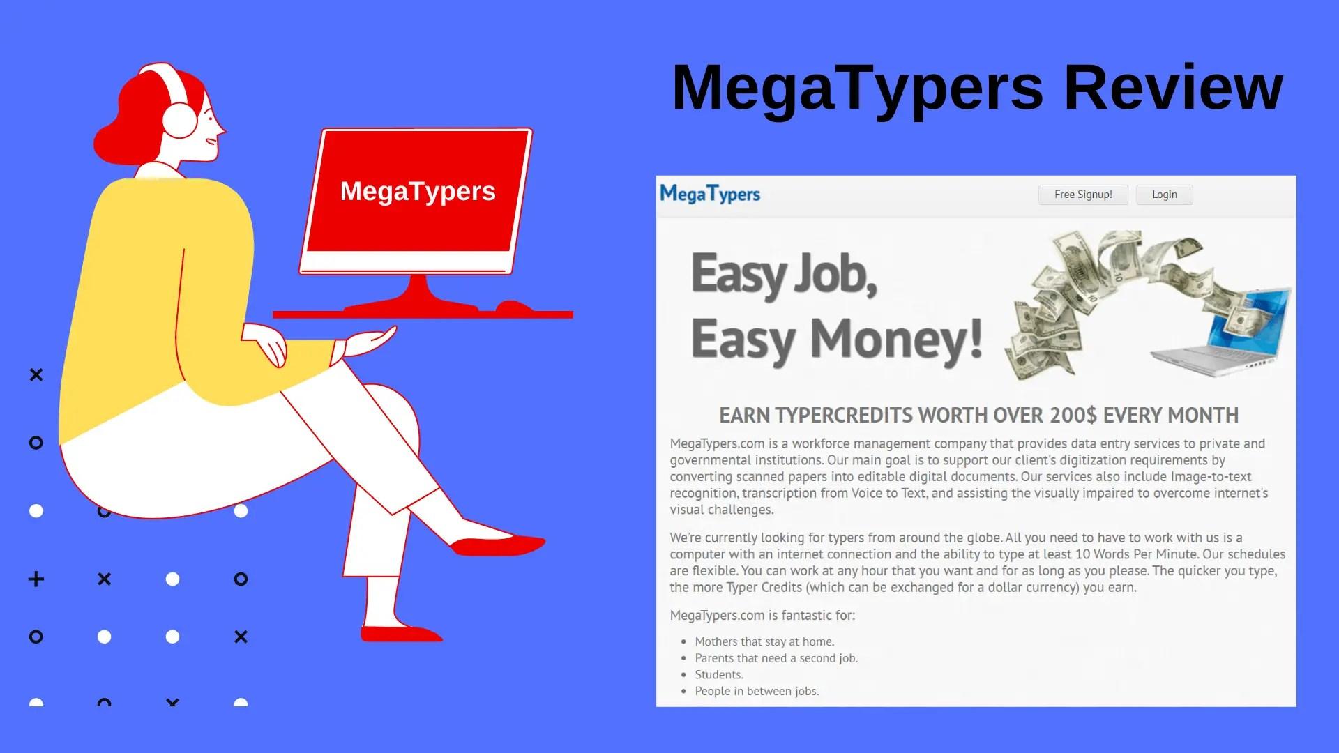 MegaTypers Review: Make Money Doing Captcha