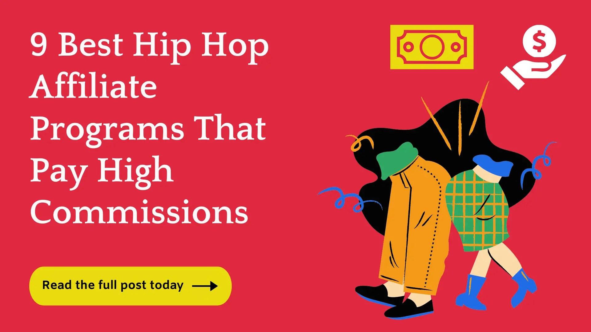 Top Hip Hop Affiliate Programs
