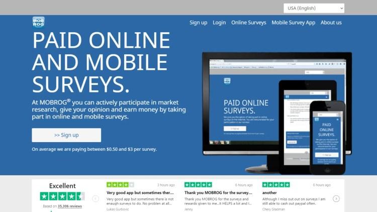 Mobrog Review: Can you make money completing surveys