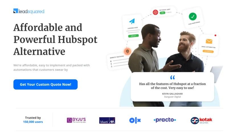 10 Best HubSpot Alternatives)