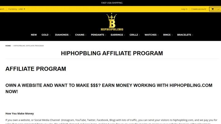 Hip Hop Related Affiliate Program