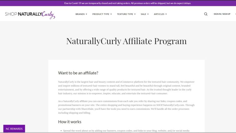 Hair Care Affiliate Programs