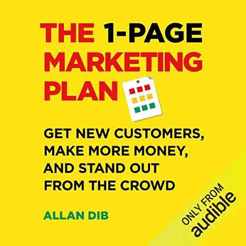 Affiliate Marketing Books: 1-Page Marketing Plan