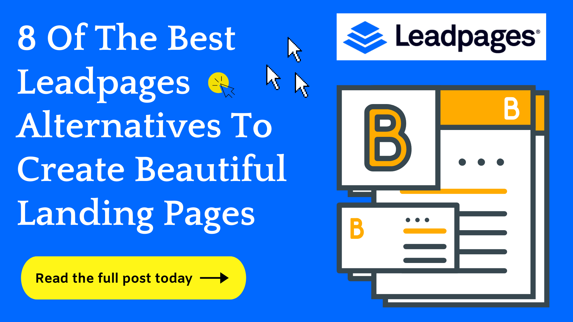 Best Leadpages Alternatives