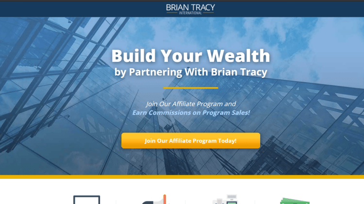 Best Self Help Affiliate Programs: Brian Tracy