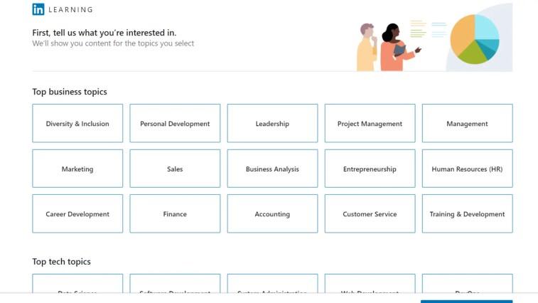 Udemy alternatives: LinkedIn Learning