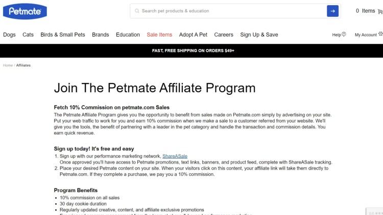 Best Cat Affiliate Programs: Petmate