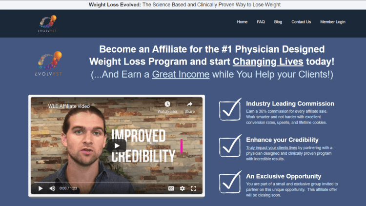 Highest paying weight loss affiliate programs