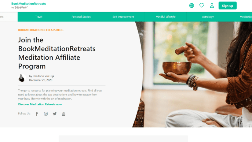 Best Meditation Affiliate Programs