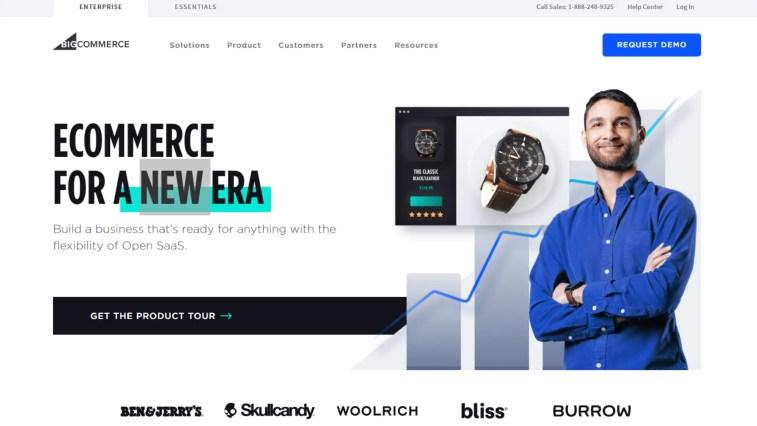 Alternative to Weebly: Bigcommerce