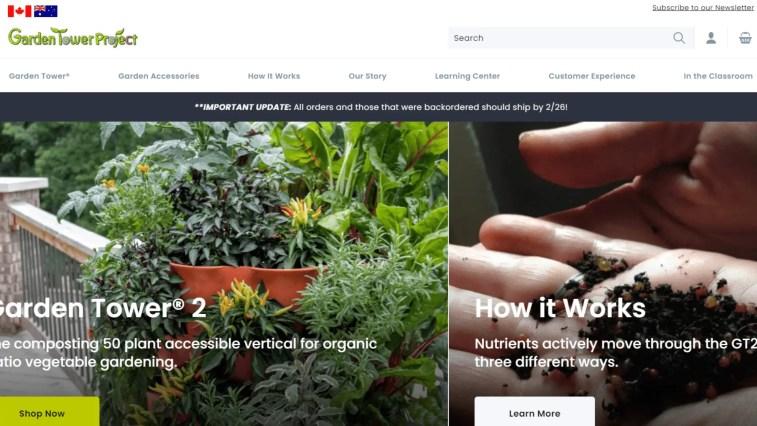 Gardening Affiliate Programs: Garden Tower Project