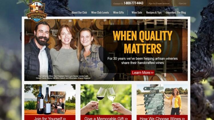 California Wine Club Affiliate