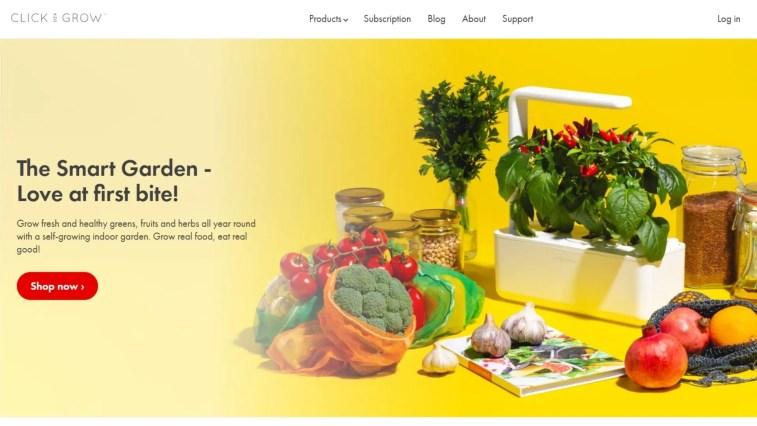 Top Gardening Affiliate Programs: Click & Grow