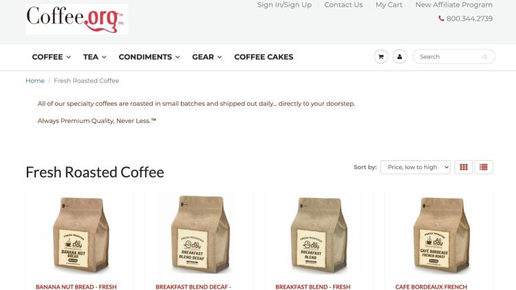 Coffee.org Affiliate Program