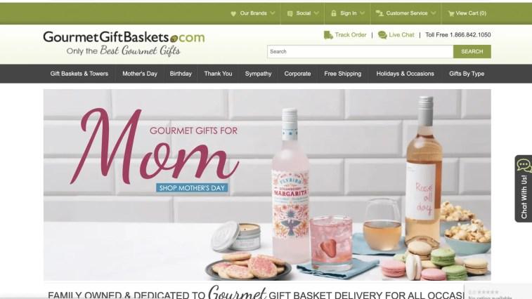 Gourmet gift baskets affiliate program