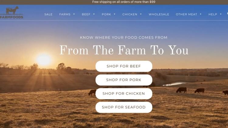 FarmFoods affiliate program: Gourmet Food