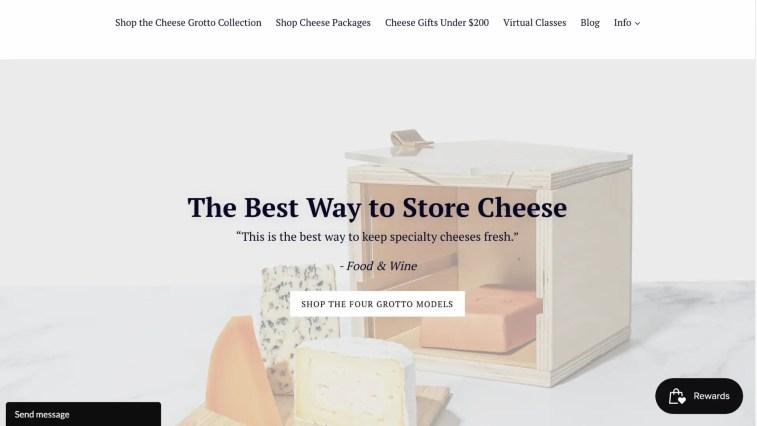 Cheese Grotto affiliate program