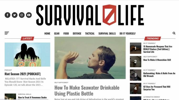 Survival Life Affiliate Program