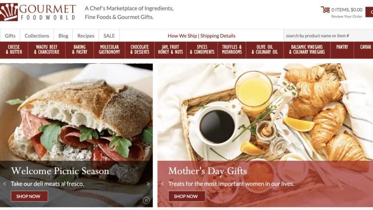 Gourmet Food Store affiliate