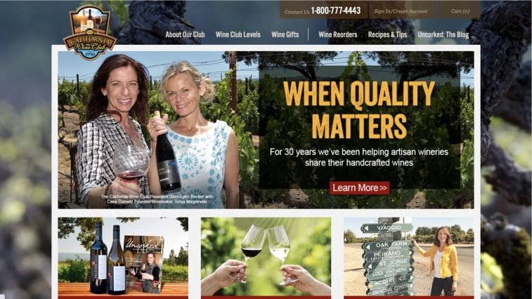 California Wine Club Affiliate Program