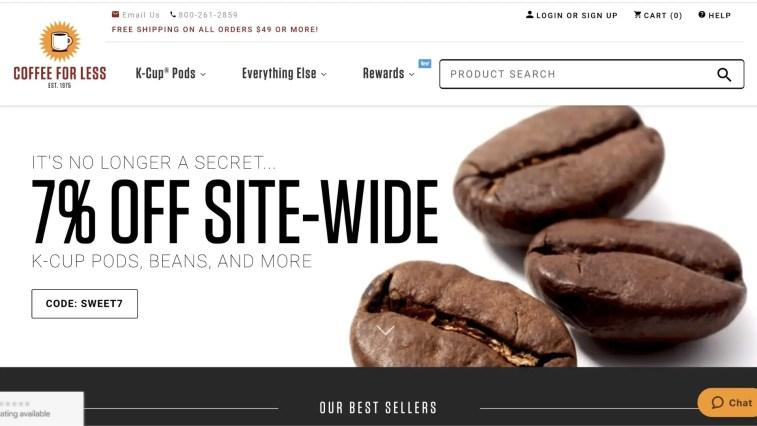 CoffeeForLess Affiliate Program