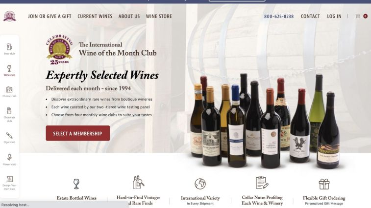 Wine of the Month Club Affiliate Program