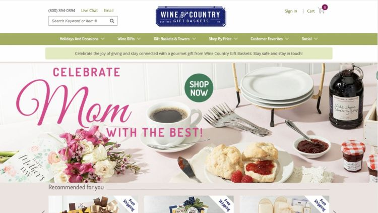 Wine Country Gift Baskets Affiliate Program