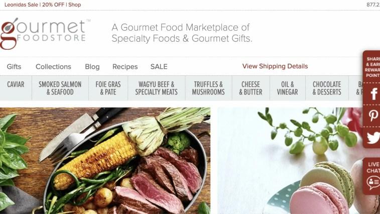 Gourmet Food World Affiliate Program