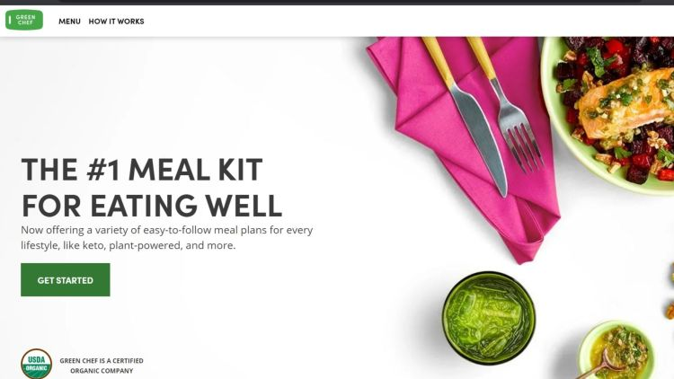 Best meal kit affiliate programs: Green Chef