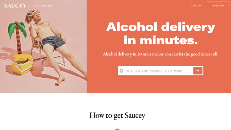 Saucey affiliate program