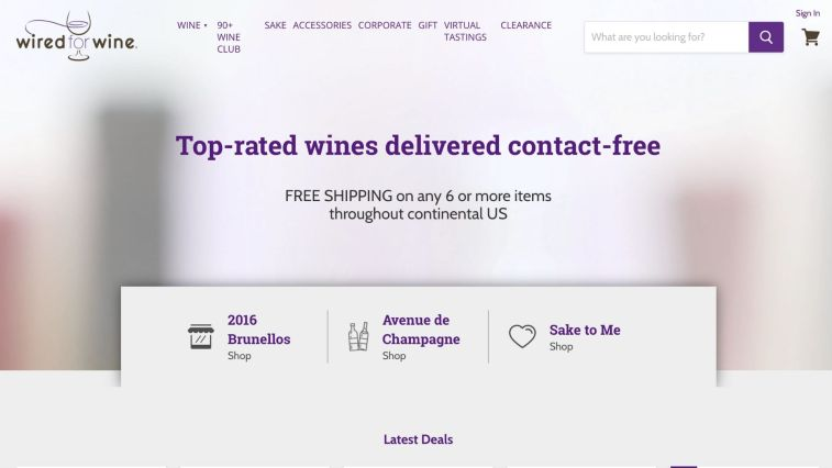Wired For Wine Affiliate Program