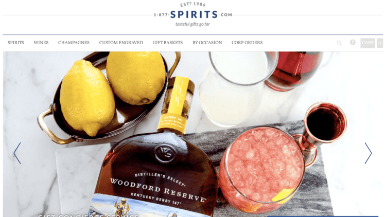 best alcohol affiliate programs: 1-877-SPIRITS