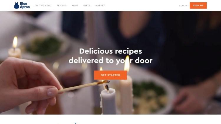 Meal kit affiliate programs: Blue Apron