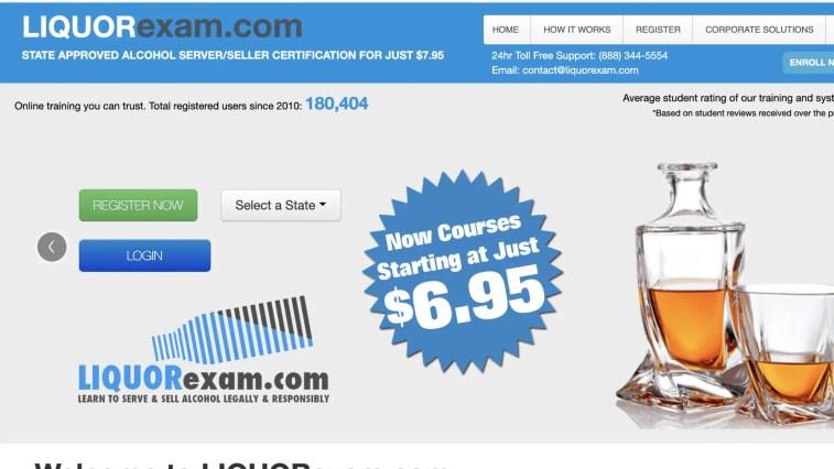 Liquor Exam affiliate program