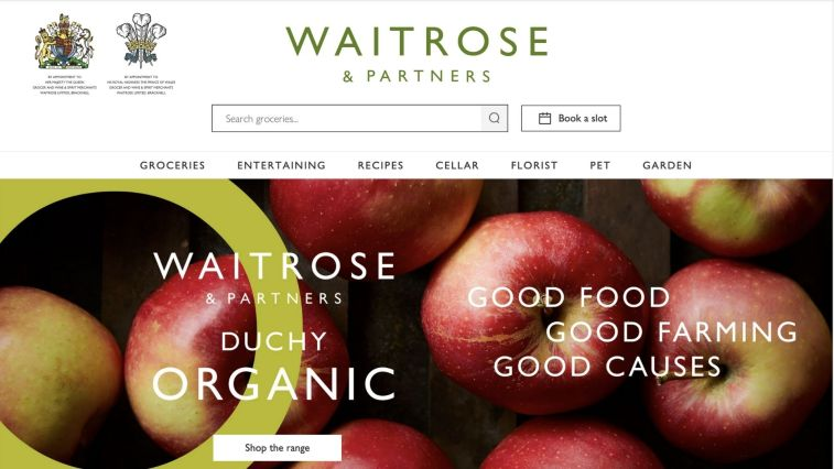 Waitrose groceries affiliate
