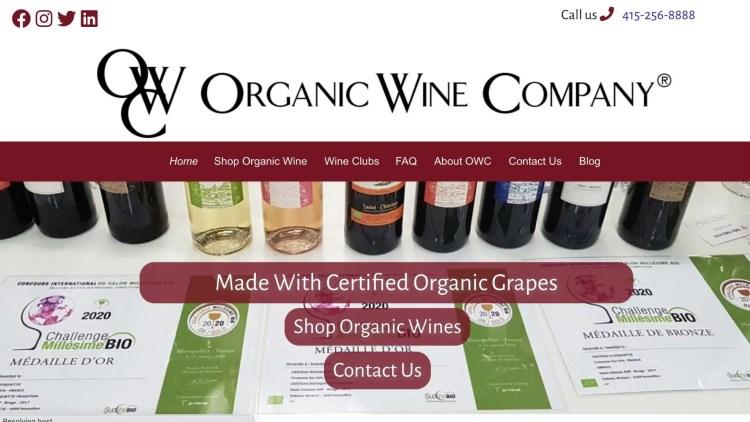 The Organic Wine Company Affiliate Program
