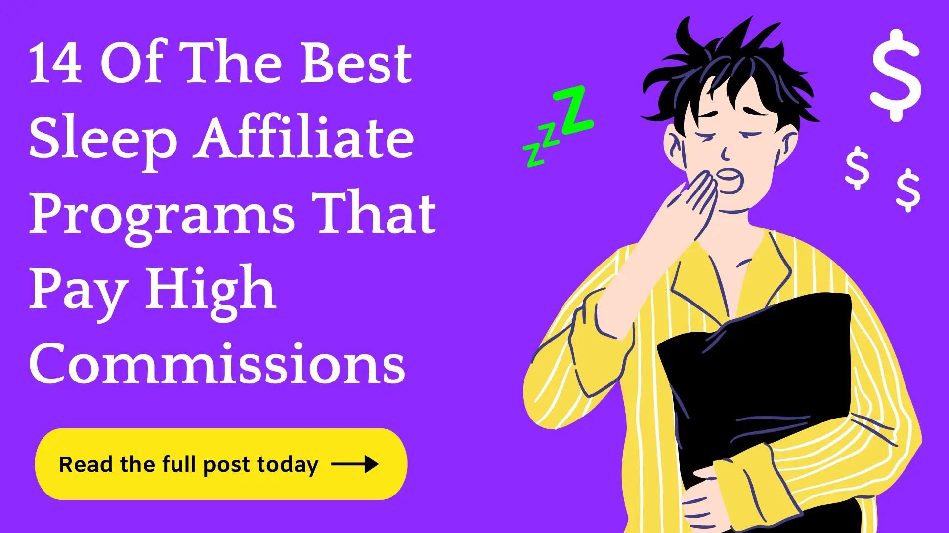 best sleep affiliate programs
