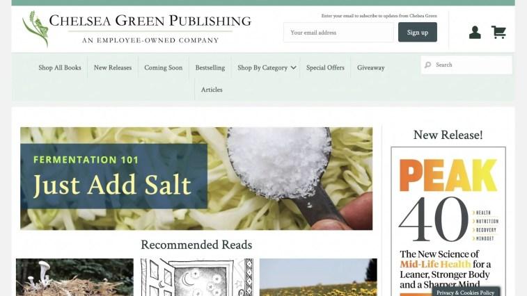 Chelsea Green affiliate