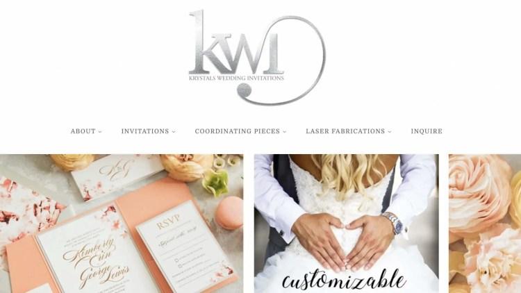 Krystals Wedding Invitations Affiliate Program