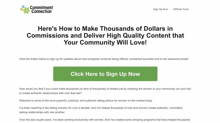 Commitment Connection Affiliate Program