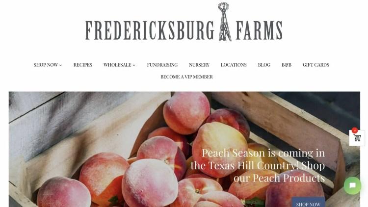 Fredericksburg Farms affiliate