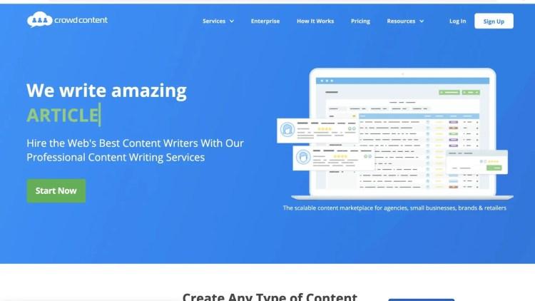 Crowd Content: alternative to HireWriters
