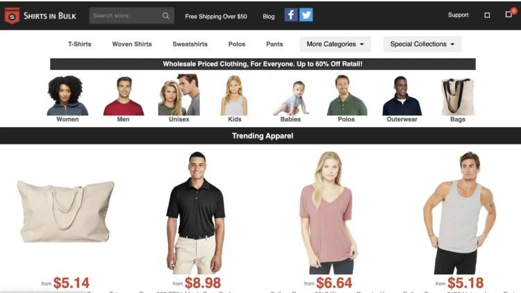 Shirts In Bulk