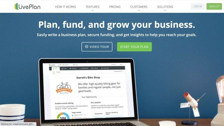 LivPlan: businessplan software affiliate program