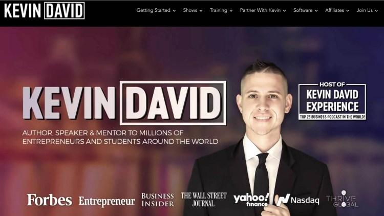 Kevin David affiliate program