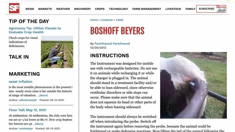 Boshoff beyers