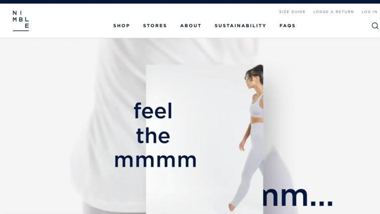 activewear affiliate programsL Nimble