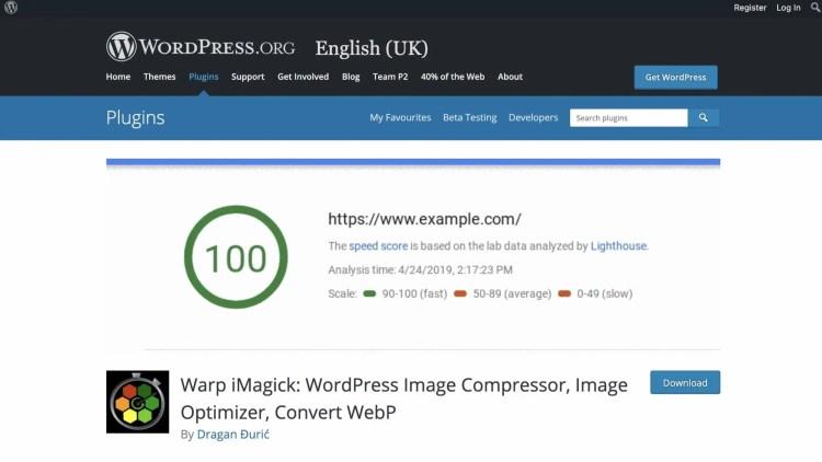 Wrap iMagick WordPress Compressor