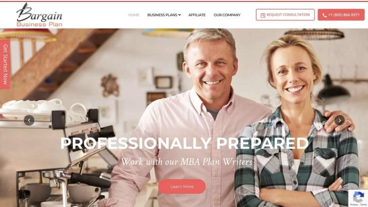 Bargain Business Plan affiliate program